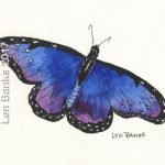 Butterfly Triptych - SOLD