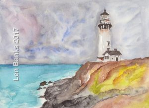 Pigeon Point Lighthouse - SOLD
