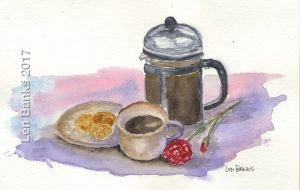 French Press - SOLD