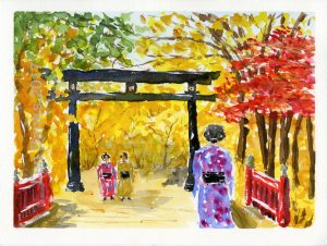 Japanese Path - SOLD