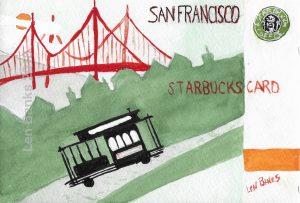 Starbucks Card SF 2010 - SOLD